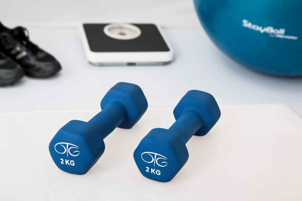 This image has an empty alt attribute; its file name is physiotherapy-weight-training-dumbbell-exercise-balls-39671.jpeg